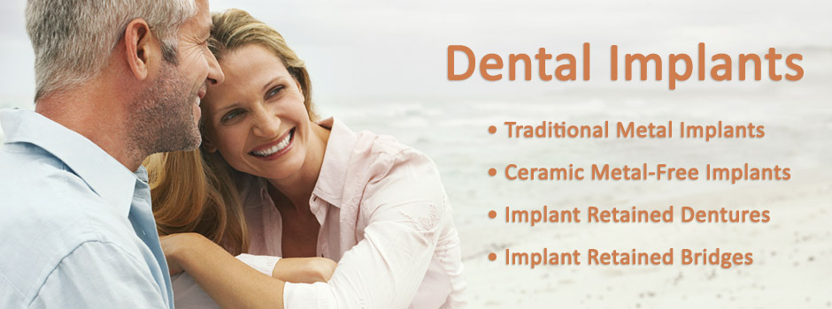Dental Implant Retained Dentures Palo Alto, Menlo Park, Atherton