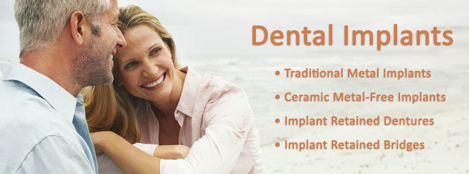 Dental Implant Retained Dentures Palo Alto, Menlo Park, Atherton